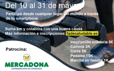 «Desafío Virtual Solidario» FADE Saludable